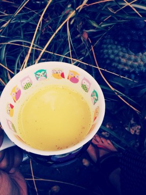 Tea Time with Turmeric