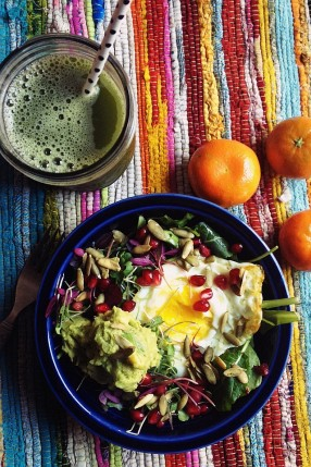 Rainbow Breakfast Salad