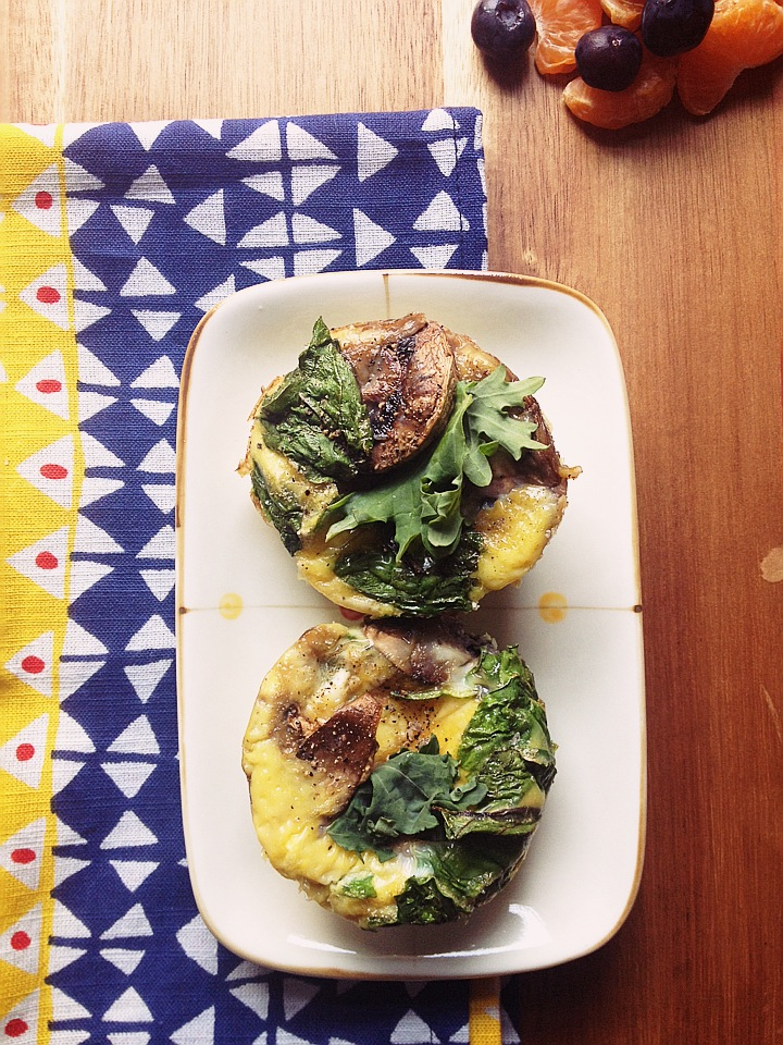 A Healthy Grab and Go Breakfast with Easy Egg Muffins