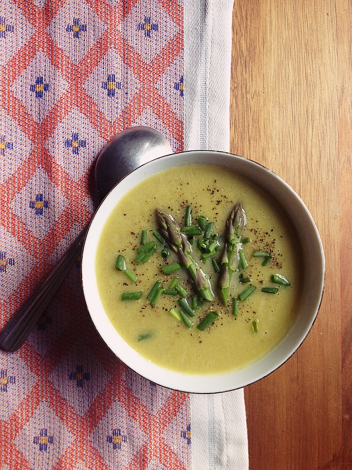 Leek and Asparagus Soup
