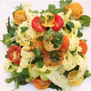 Zucchini Ribbon Summer Salad