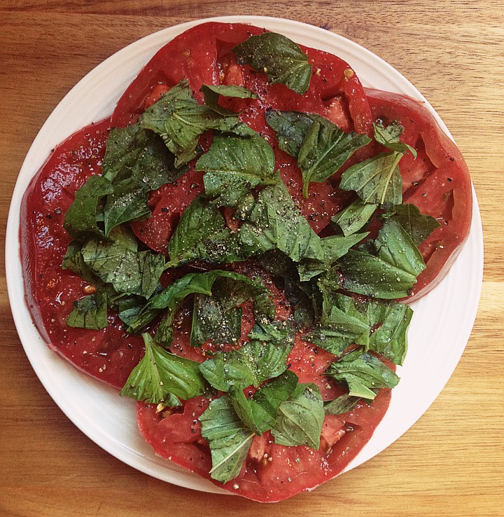 Tomato and Basil Salad