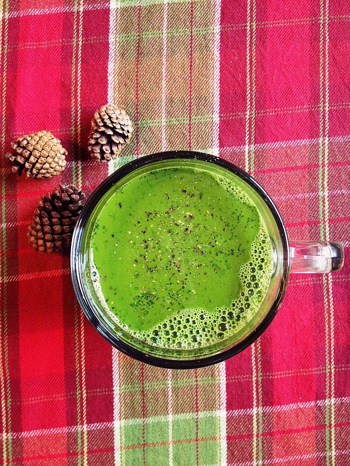 My New Favorite Warm Winter Green Juice